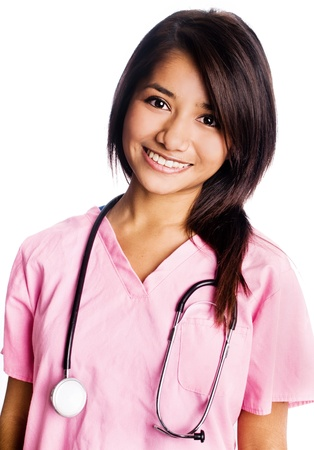 Attractive young nurse Stock Photo - 15868789