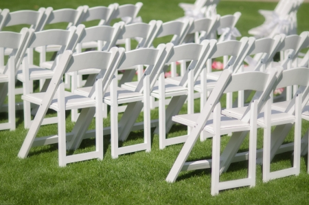 wedding chairs: Outdoor chairs, aisle wedding ceromony