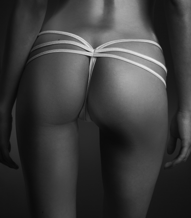 Fine art beautiful young womans ass photo