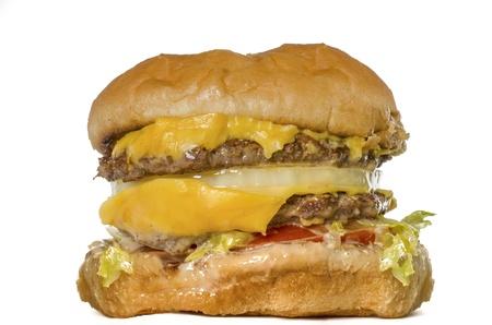 greasy: cheeseburger