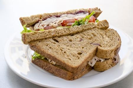 Turkey sanwich Zdjęcie Seryjne