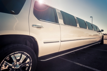 luxury travel: Stretch limo service
