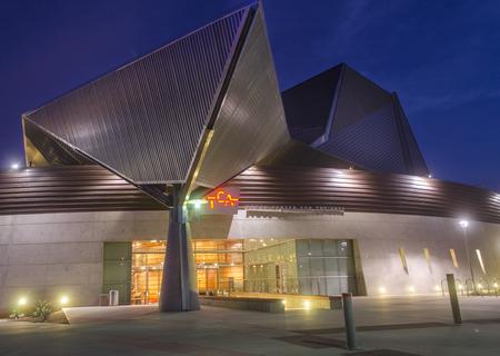 Tempe Center of Art in Arizona,USA Editorial
