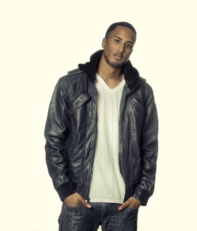 Fashionable stylish young man Stock Photo
