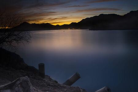 roosevelt: Theodore Roosevelt Lake, Arizona, Stock Photo