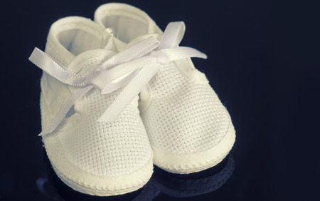 Baby booty bootie shoes photo