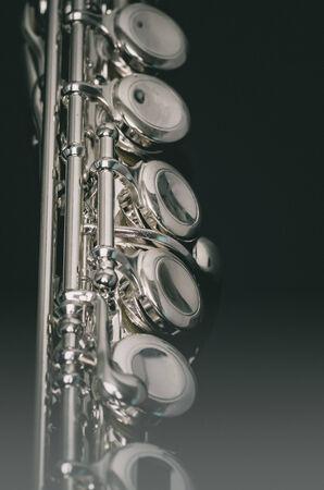 boehm: Flute instrument Stock Photo