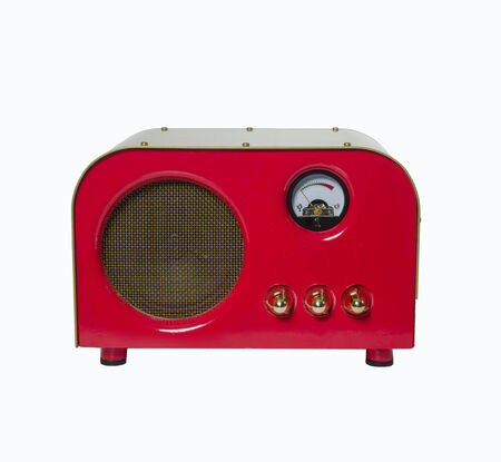 Vintage retro style amp speaker photo