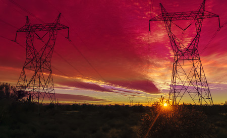 electricity supply: Power electricity supply infrastructure