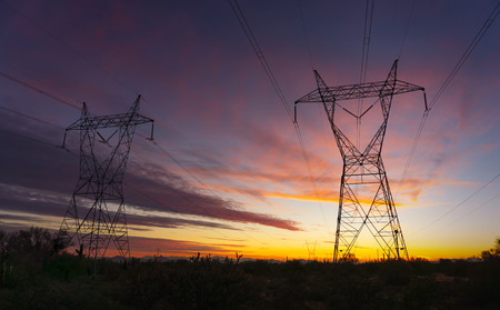 electric grid: Power electricity supply infrastructure