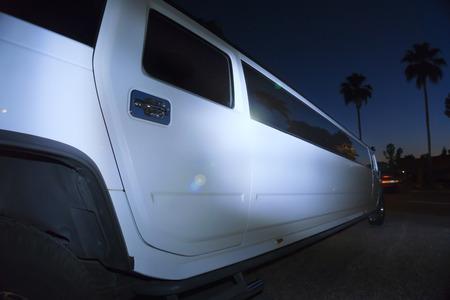 Luxury limo limousine night life