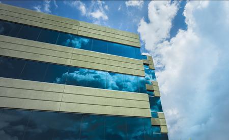현대 오피스 빌딩 건축 스톡 콘텐츠