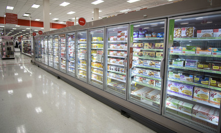 refrigerator with food: Target Corporation is an American retailing company founded in 1902 Editorial