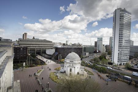 Birmingham City Center,England