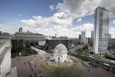 Birmingham City Center,England