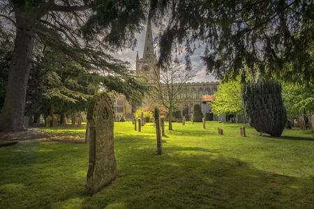 avon: Graveyard in Stratford upon AvonEngland