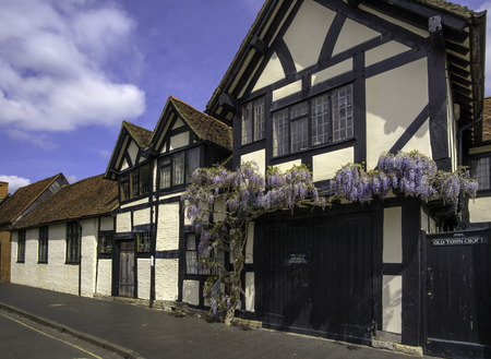 stratford upon avon: Stratford Upon Avon England May 23 2015 Tudor Buildings