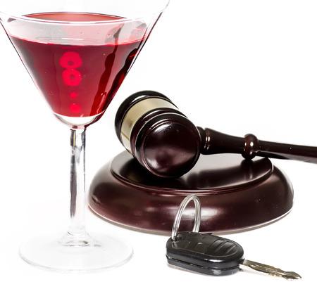 법적 법률 개념 이미지를 운전 음주 운전 음주