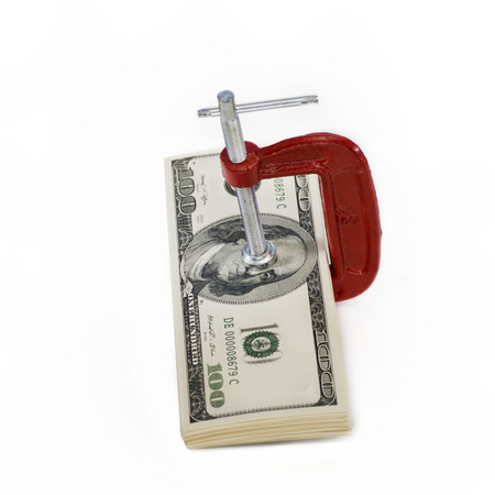 vice grip: Vice grip on money