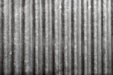Corrugated metal background Standard-Bild