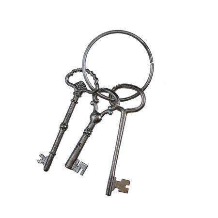 old keys: Vintage old keys