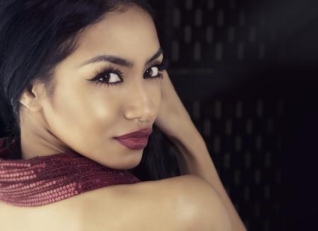 sexy nackte frau: Schöne exotische junge Frau Lizenzfreie Bilder