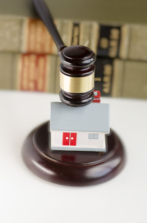 Legal law real estate concept image Stock Photo