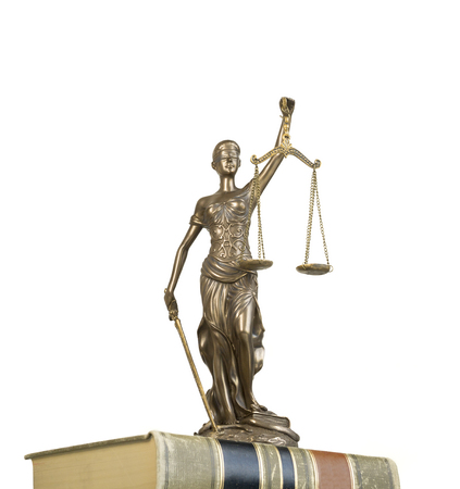 trial balance: Scale of justice - crime, law legal concept image