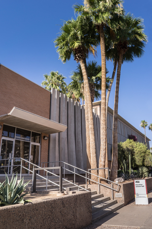 hosts: Tempe,Az,USA ASU. Jun,1st,2016. Education Lecture Hall,The Education Lecture Hall, hosts large lecture classes as well as seminars, workshops, conferences, special lectures and events. Editorial