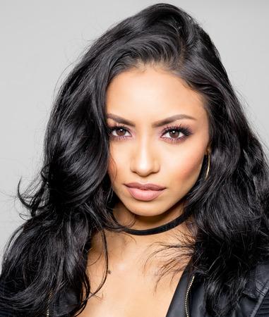 latina: Beautiful exotic young woman