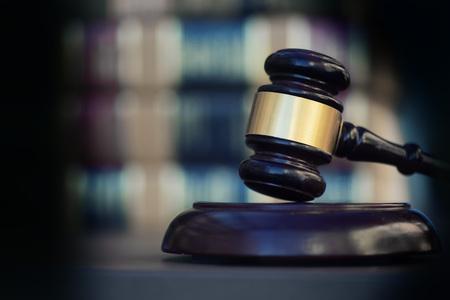 Bewijslast, afbeelding juridische wet concept. Stockfoto