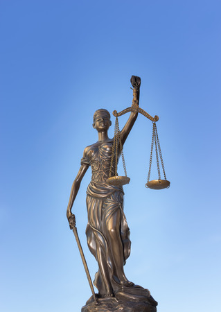 Epic Scales of Justice symbol - legal law concept image