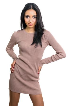 fashionable woman: Beautiful stylish fashionable woman Stock Photo