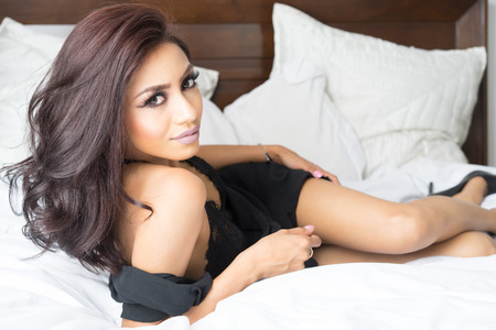 sexy latina: Beautiful elegant exotic young woman