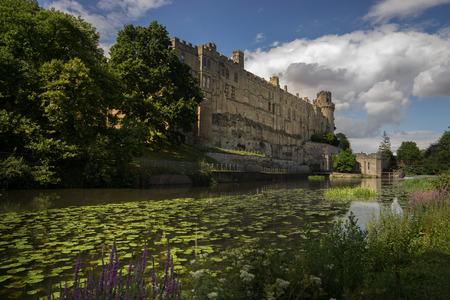 Warwick Castle on River Avon,England
