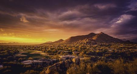 Scottsdale,Arizona desert landscape