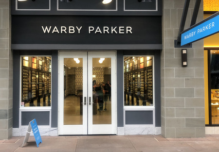 Scottsdale, AzUSA -6.15.18-JAND, Inc (Warby Parker), American online retailer of prescription glasses & sunglasses, they also feature retail locations in US and Canada.