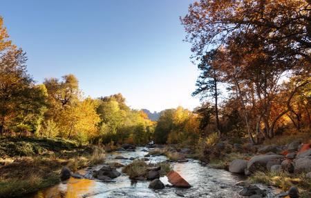 Oak Creek Canyon, Sedona, Arizona,USA Imagens