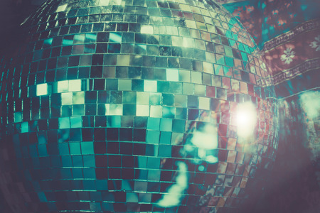 Disco Ball dance party background Imagens - 115912197