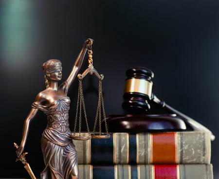Law and Order social justice concept image Imagens - 115272525