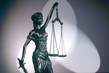 Law and Order social justice concept image Imagens - 115272526