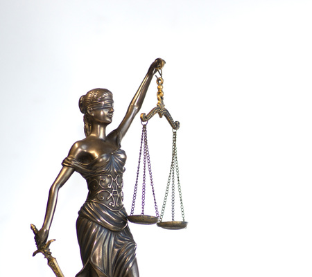 Law and Order social justice concept image Imagens - 115272528
