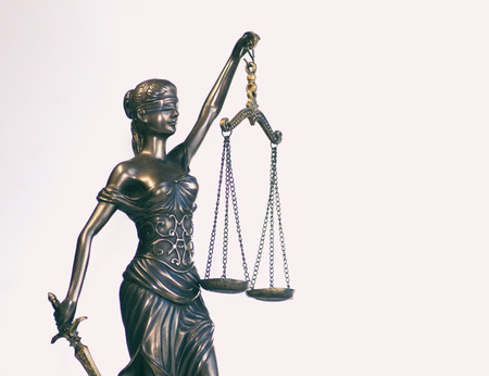 Law and Order social justice concept image Imagens - 115272529