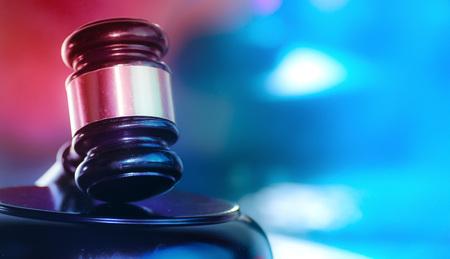 Law and Order Konzeptbild für soziale Gerechtigkeit
