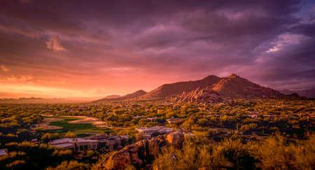 Title Scottsdale,Arizona desert landscape
