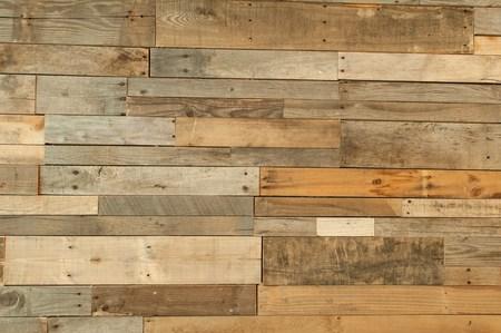 reclaimed wood floor texture Foto de archivo