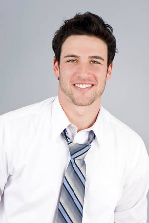 Attractive young casual business man Stock Photo - 4924073