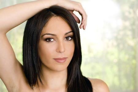Portrait of a beautiful woman Stock Photo - 4989369