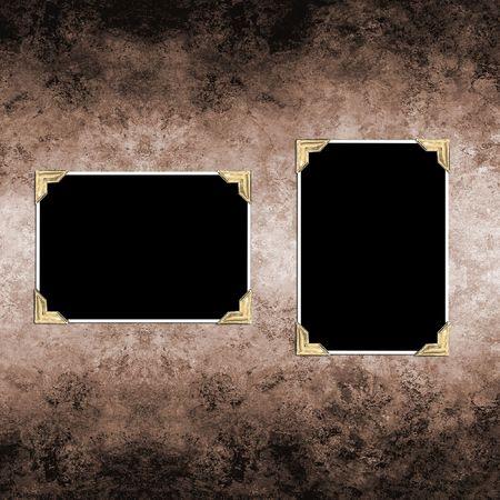 Grungey alten Papier mit Leerzeichen Fotos Standard-Bild - 5085006