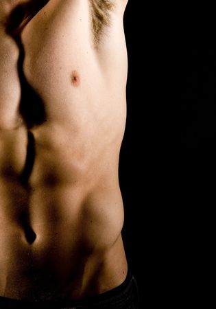 Attractive fit man without his shirt Stock Photo - 5154387